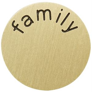 Picture of 'Family' Large Gold Coin
