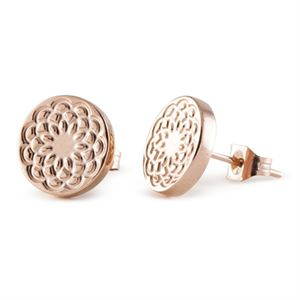 Picture of Rose Gold Flower Studs