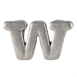 Picture of Silver 'W' Slider Charm
