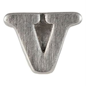 Picture of Silver 'V' Slider Charm