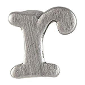 Picture of Silver 'R' Slider Charm
