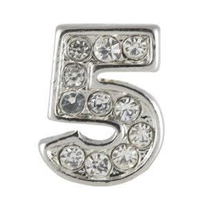 Picture of Silver Number Five Charm