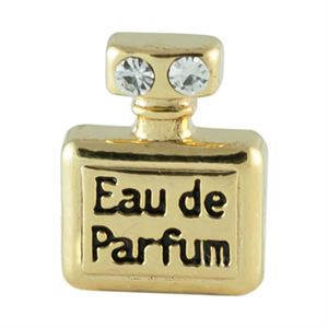 Picture of Gold Perfume Bottle Charm
