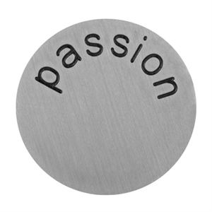 Picture of 'Passion' Large Silver Coin