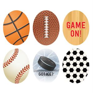 Picture of Sports Oval Locket Backdrops