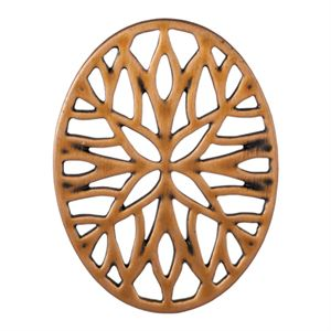Picture of Rose Gold Vintage Mosaic Oval Screen