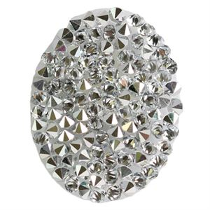 Picture of Oval Hematite Crystal Embellishment