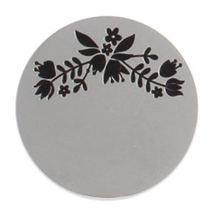 Picture of Large Silver Rose Branch Coin