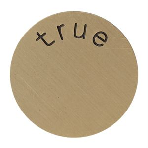 Picture of 'True' Medium Gold Coin
