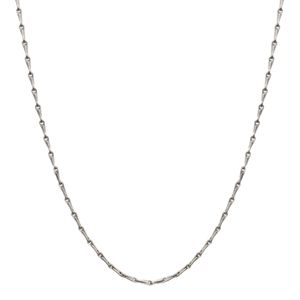 Picture of Nickel-Safe Silver Elongated Cable Chain: 28""