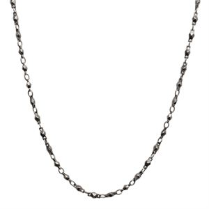Picture of Nickel-Safe Graphite Multifaceted Link Chain - 28""