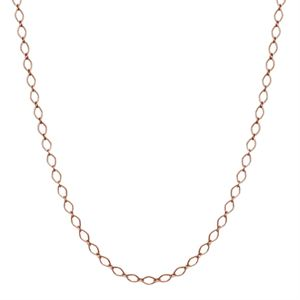 """Picture of Nickel-Safe Rose Gold Sofia Chain: 16-19"""""""