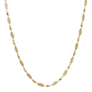 Picture of Gold Natalie Chain: 16-19""