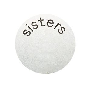 Picture of 'Sisters' Medium Silver Coin